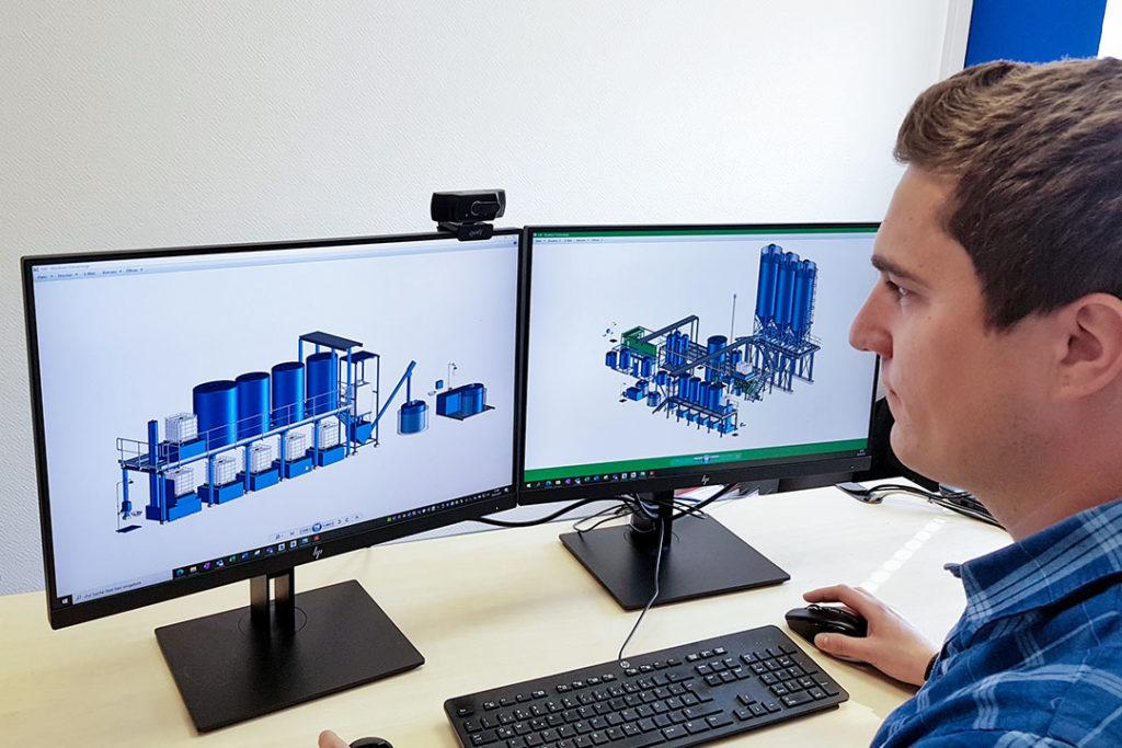 CAD Programm zum Anlagenbau