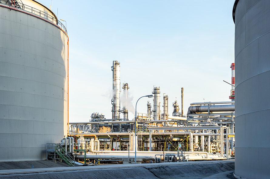 Industrielle Anlage zur Phosphor Rückgewinnung aus Klärschlamm
