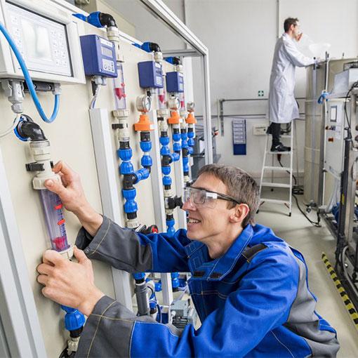 Anlage zur Phosphor Rückgewinnung aus Klärschlamm