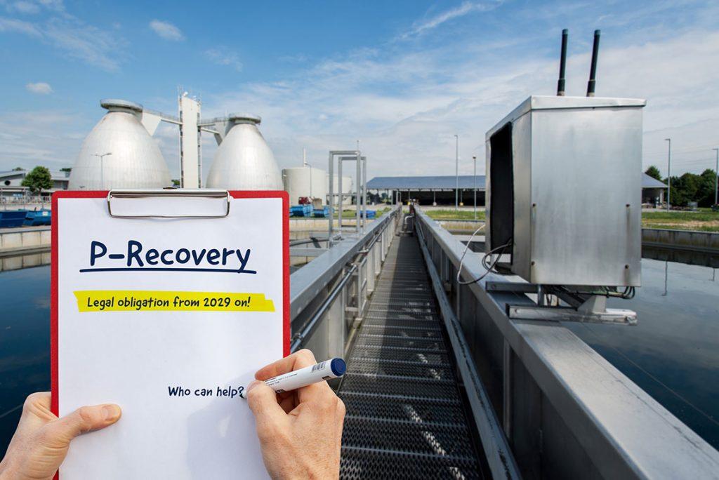 Phosphorus recovery from sewage sludge